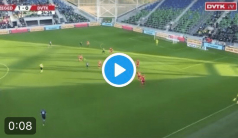 Torino FC, il bellissimo gol di Horvath in Szeged-DVTK (Video)